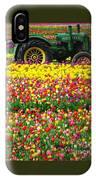 John Deere Tulips IPhone Case