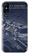 John F Kennedy International Airport IPhone Case