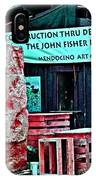 John Fisher Project IPhone Case