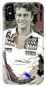 John Wayne In Buckskins The Big Trail 1930-2013 IPhone Case