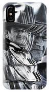 John Wayne Rio Lobo Collage Old Tucson Arizona 1970-2009 IPhone Case