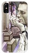 Johnny Cash-hurt IPhone Case