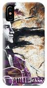 Johnny Cash Original Painting Print IPhone Case