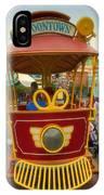 Jolly Trolley Disneyland Toon Town IPhone Case