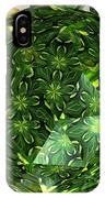 Jonquil Kaleidoscope Under Polyhedron Glass IPhone Case
