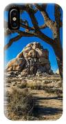 Joshua Tree Jumbo Rocks IPhone Case