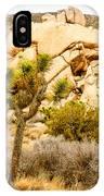 Joshua Tree National Park Skull Rock IPhone Case