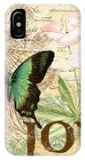 Joy And Butterflies IPhone Case