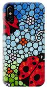 Joyous Ladies Ladybugs IPhone Case
