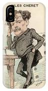 Jules Cheret  French Artist Noted IPhone Case