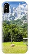 Julian Alps Farm IPhone Case