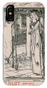 Juliet From Romeo And Juliet IPhone Case