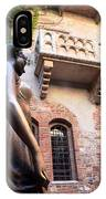 Juliet's Balcony In Verona Italy IPhone Case