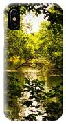 July Indian Lake Looking North IPhone Case
