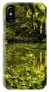 July Tranquil Indian Lake IPhone Case
