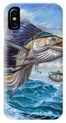 Jumping Sailfish And Small Fish IPhone Case