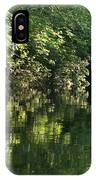 June Morning On The Pawcatuck IPhone Case
