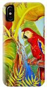 Jungle Flame IPhone Case