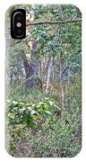 Jungle Forest In Chitwan Np-nepal IPhone Case