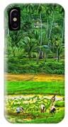 Jungle Homestead - Paint  IPhone Case