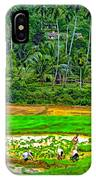 Jungle Homestead Paint Version IPhone Case