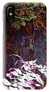 Jungle Red Tints IPhone Case