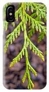 Juniper Leaf IPhone Case
