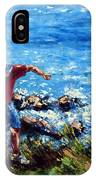 Just A Pebble In The Water IPhone Case