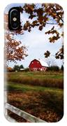 Just Across The Fence IPhone Case