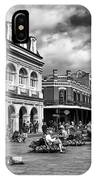 Just Another Day At Jackson Square Mono IPhone Case
