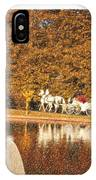 Just Married - A Fairytale IPhone Case