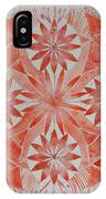 Just Red Mandala IPhone Case