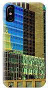 Juxtaposition Of Pittsburgh Buildings IPhone Case