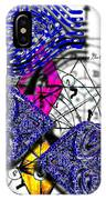 Kabbalah And Fish IPhone Case