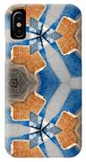 Kaleidoscope In Blue And Orange IPhone X Case