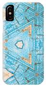 Kaleidoscope In Turquoise IPhone X Case