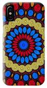 Kaleidoscope Of Colorful Embroidery IPhone Case