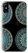 Kaleidoscope Steampunk Series Montage IPhone Case