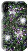 Kaleidoscope Violets 2 IPhone Case