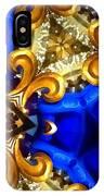 Kaleidoscopic Blues Fdl  IPhone Case