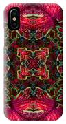 Kaleidscope Made From Image Of Coleus Plant IPhone Case