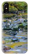 Kanaka Creek In The Fall IPhone Case