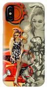 Kandi Blaze Poster 4 IPhone Case