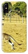 Kangaroo Hop IPhone Case