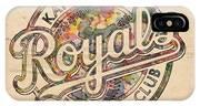 Kansas City Royals Logo Vintage IPhone Case