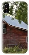 Kansas Hay Barn IPhone Case