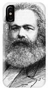 Karl Marx  German Radical Political IPhone Case