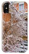 Karma In Winter IPhone Case