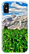 Kashmir Field IPhone Case