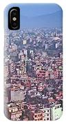Kathmandu From The Airplane-nepal  IPhone Case